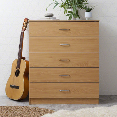 Chest of Drawers - Beech - Laura James