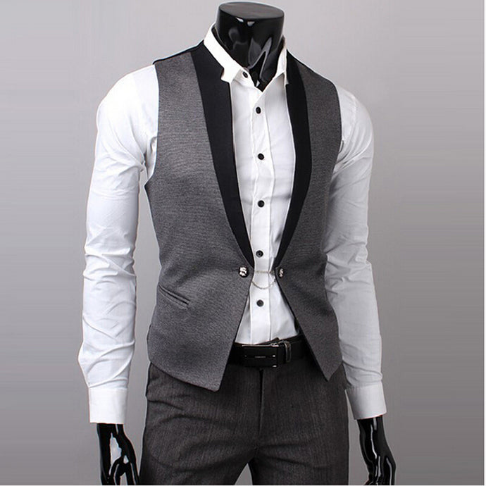 Men's slim fit vest