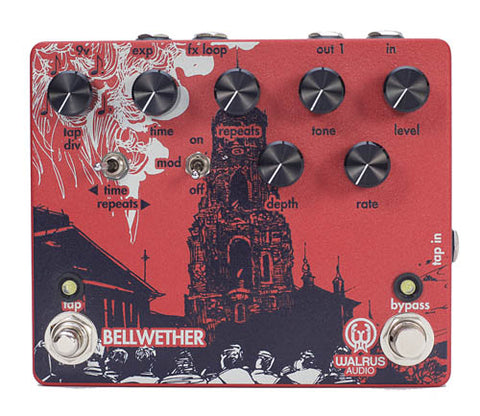 Walrus Audio Bellwether Analog Delay with Tap Tempo Pedal