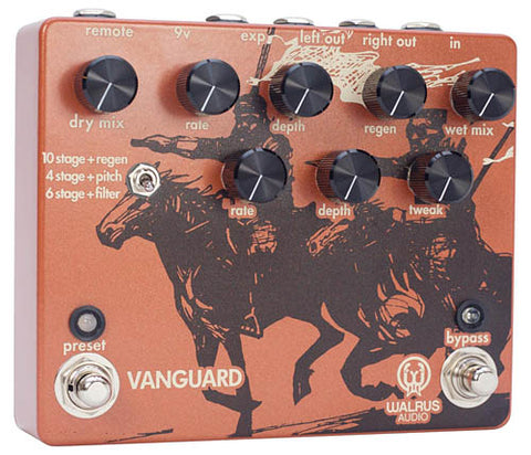 Walrus Audio Vanguard Dual Phase Guitar Pedal