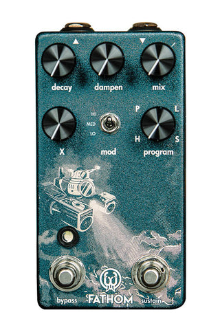 Walrus Audio Fathom Multi-Function Reverb Guitar Pedal