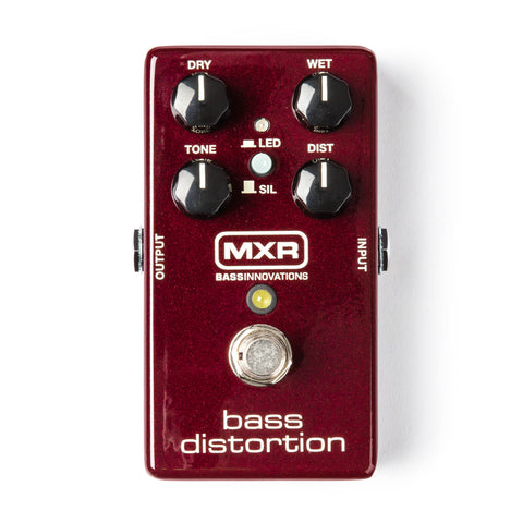 MXR BASS DISTORTION M85 Pedal
