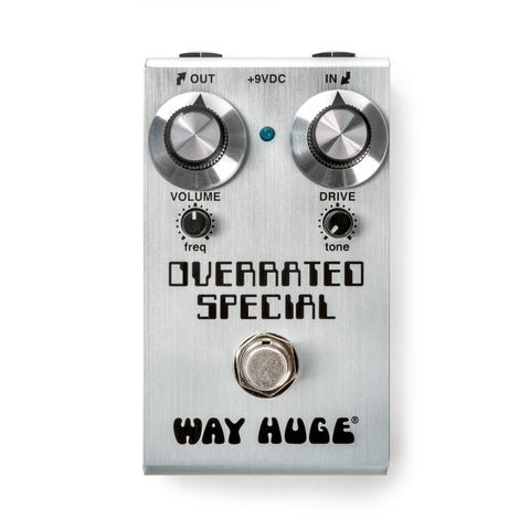WAY HUGE SMALLS OVERRATED SPECIAL OVERDRIVE WM28 Pedal