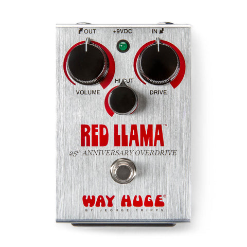 WAY HUGE RED LLAMA 25TH ANNIVERSARY OVERDRIVE WHE206 Pedal