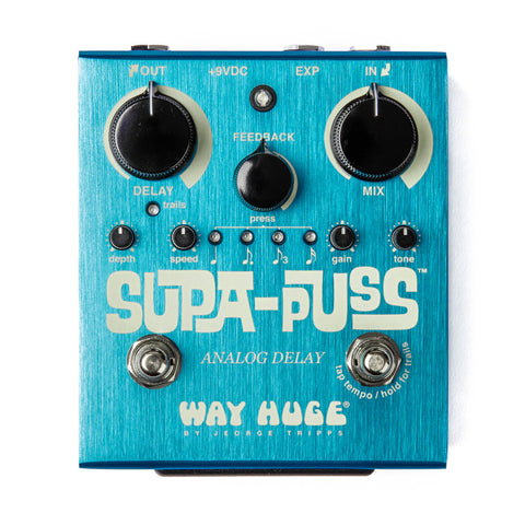 WAY HUGE SUPA-PUSS ANALOG DELAY WHE707 Pedal