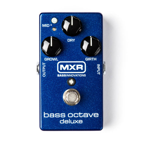 MXR BASS OCTAVE DELUXE M288 Pedal