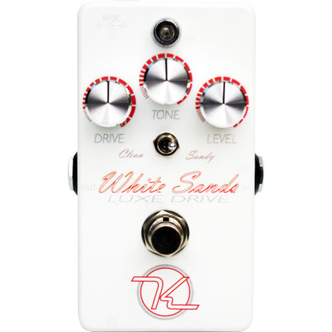 Keeley White Sands Luxe Drive Overdrive Pedal