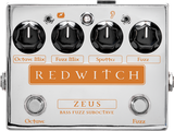 Red Witch Zeus Bass Fuzz Suboctave Pedal