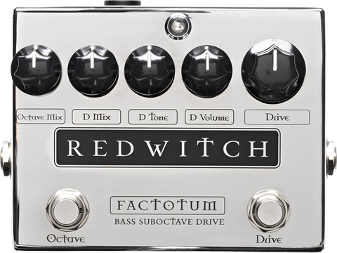 Red Witch Factotum Suboctave Bass Overdrive Pedal