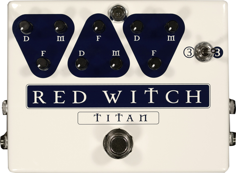 Red Witch Titan Delay Triple Delay Pedal