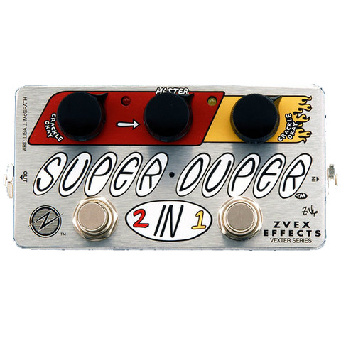 ZVEX Super Duper 2-in-1 Vexter Guitar Effects Pedal