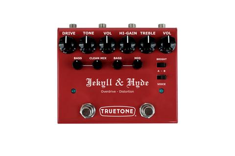 Truetone V3 Jekyll & Hyde Overdrive Distortion Pedal