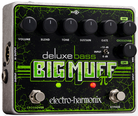 Electro-Harmonix Deluxe Bass Big Muff Pi Distortion/Sustainer Pedal