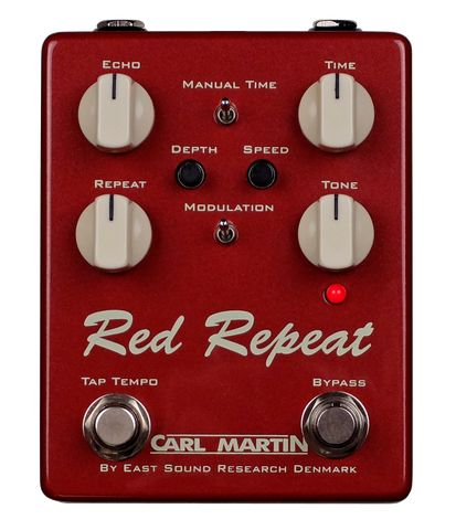 Carl Martin Red Repeat 2016 Edition Pedal