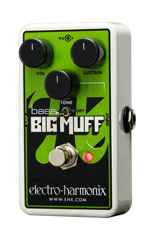 Electro-Harmonix Nano Bass Big Muff Pi Distortion/Sustainer Pedal