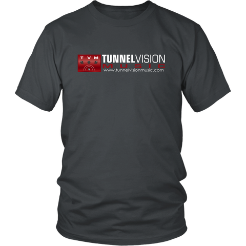 TunnelVision Music Logo Shirt Red Logo