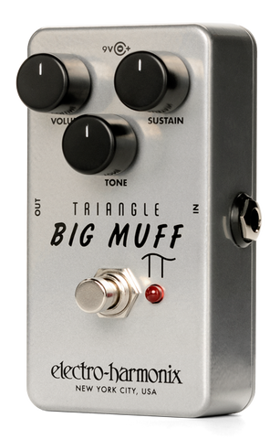 Electro-Harmonix Triangle Big Muff Pi Distortion/Sustainer Pedal Used Open Box