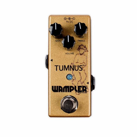 Wampler Tumnus Overdrive Pedal Open Box Store Demo Mint