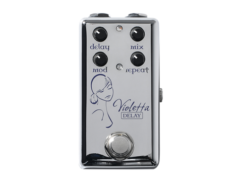 Red Witch Violetta Delay with modulation Pedal