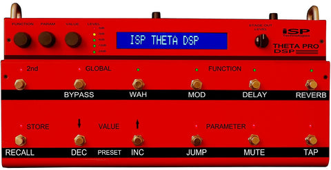 ISP Technologies Theta Pro DSP Guitar Preamp Multi-Effects Pedal
