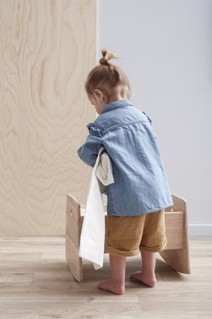 Kid's Concept Poppenwieg Nature Hout