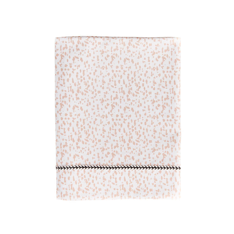 Mies en Co Ledikant Laken Wild Child Chalk Pink