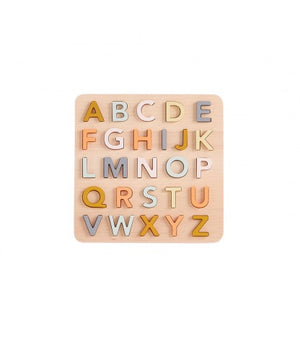 ABC Puzzel Hout Kid's Concept- Kidsbarn
