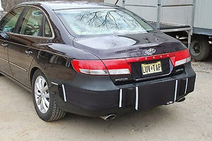 Luv-Tap COMPLETE COVERAGE Rear Bumper Guard -License Plate on Trunk (NO HOLE), Rear Bumper Guard - for TRUNK MOUNTED rear licese plate vehicles, Luv-Tap, Luv-Tap