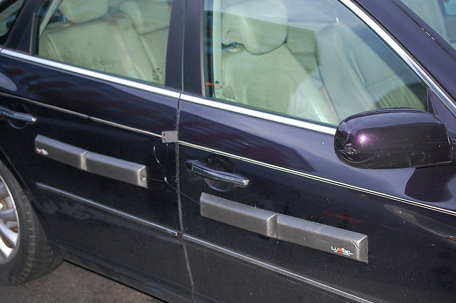 Ding Bats Removable Magnetic Car Door Protectors With Security