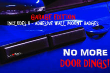 Ding Bats Magnetic Garage Wall Protective Guards, Standard set of 4 Magnetic Door Guards with 8 adhesive backed wall badges for mounting to garage walls, Luv-Tap, Luv-Tap