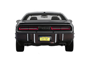 Luv-Tap BG002 - COMPLETE COVERAGE Universal Fit Rear Bumper Guard for Bumper Mounted Rear License Plate Vehicles - with Cut-out for License Plate, Rear Bumper Guard - for BUMPER MOUNTED rear licese plate vehicles, Luv-Tap, Luv-Tap