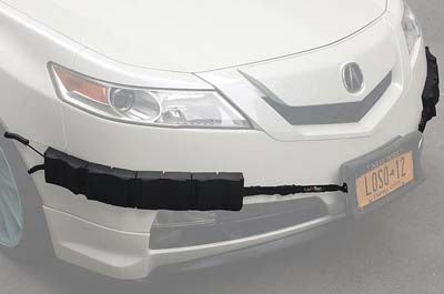 Bumper Thumper Ultimate Complete Coverage Front Bumper Guard Shock Absorbing Flexible PROTECTION SYSTEM (Left and Right Side/Corner Set ONLY), Left and Right Side/Corner Set with Locking Straps, Luv-Tap, Luv-Tap