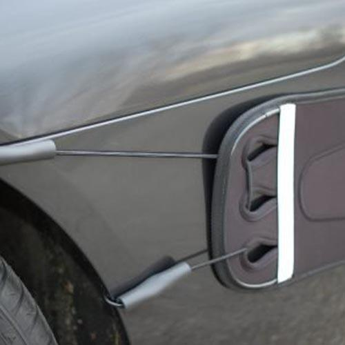 2- Bungee Cords with S-Hook Fittings for Luv-Tap Complete Coverage Rear Bumper Guard, , Luv-Tap, AutoAffectionProtection