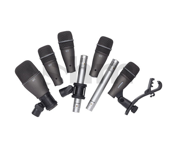 7Kit Samson Drum Mic