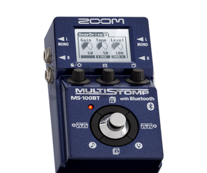 Zoom MS100BT Bluetooth Multistomp FX Pedal