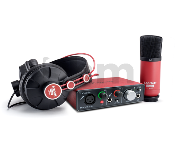 Focusrite Solo Studio Bundle