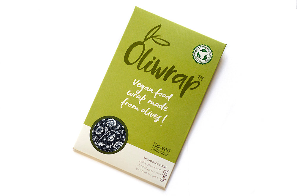 Oliwrap: vegan food wrap in Midnight Rose