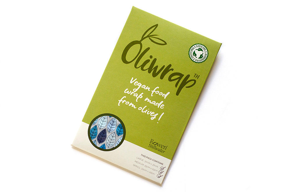Oliwrap: Vegan food wrap in winter leaf