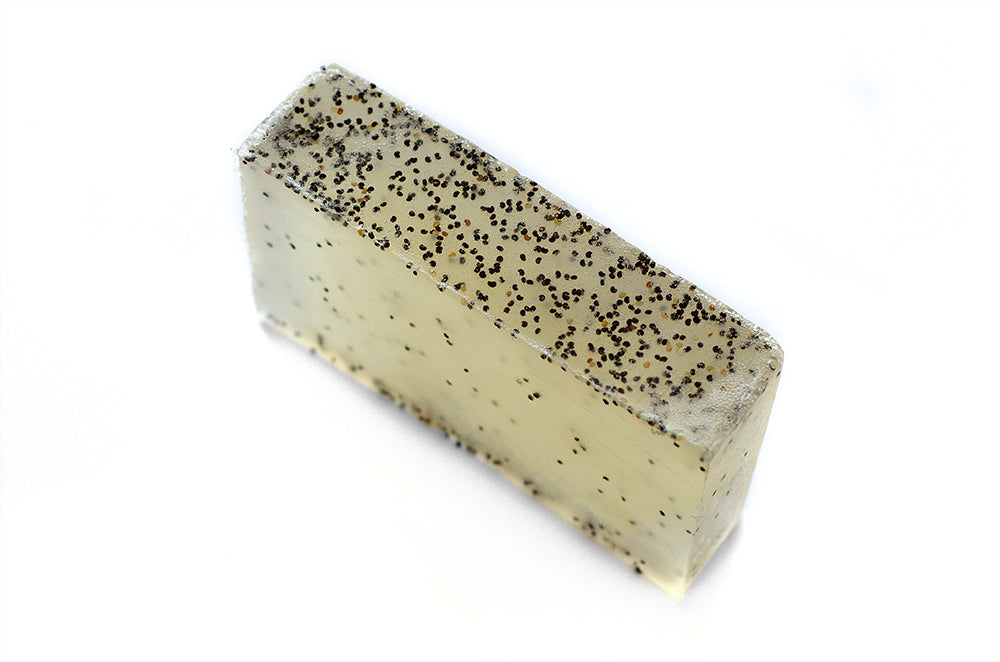 Organic Soap: Tea Tree & Poppy Seed