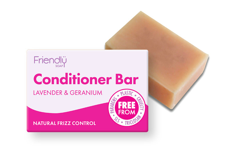 Lavender and Geranium Conditioner Bar