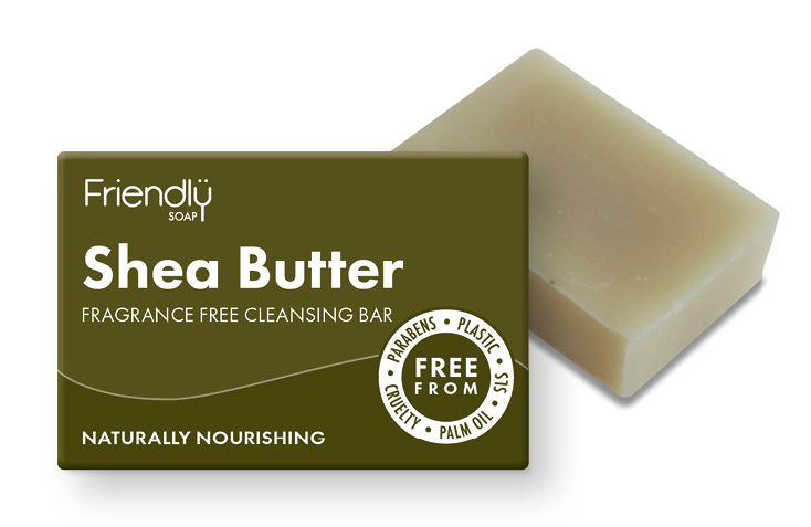 Fragrance free shea butter soap