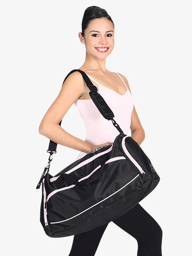 Bloch's Pink and Black Dance Bag