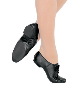 Bloch tie up character/ jazz shoe