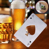 Crazy Ace Playing Card Bottle Opener
