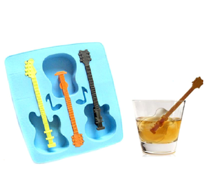 Guitar Novelty Ice Cube Tray
