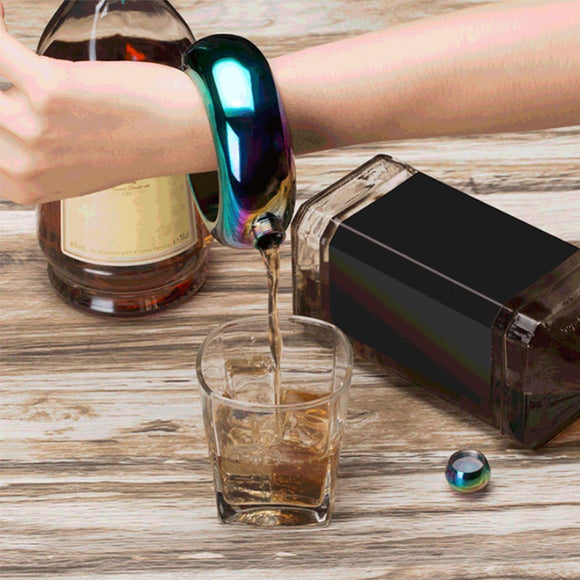 Bracelet Bangle Drink Flask