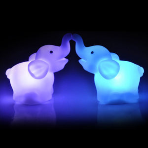 FREE! - Loveable Elephant 7 Color LED Night Lamp
