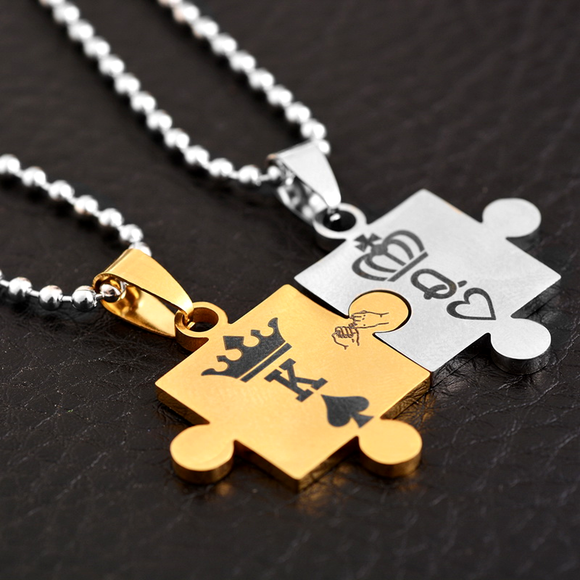 King & Queen Necklaces