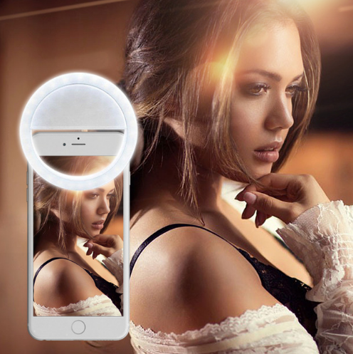 Selfie Flash LED Smartphone Case Camera Light Ring