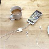 2-in-1 iPhone Charging & Audio Adapter